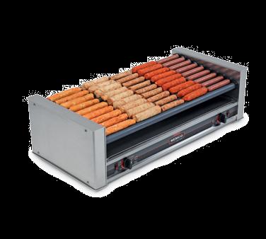 Nemco Food Equipment 8045W-SLT-220 hot dog grill