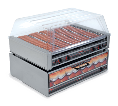 Nemco Food Equipment 8075SX-220 hot dog grill