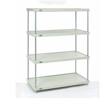 NEXEL 18367CSP shelving unit, plastic with metal post
