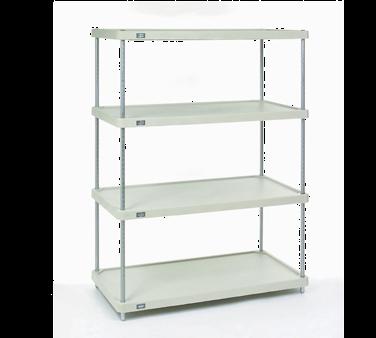 NEXEL 24487CSP shelving unit, plastic with metal post
