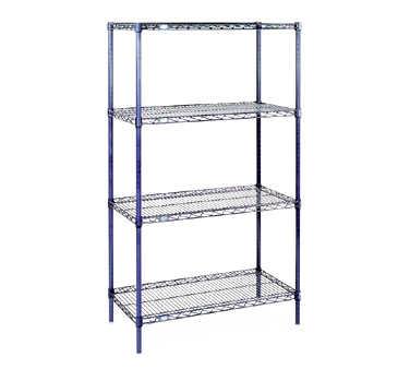 NEXEL 24608C shelving unit, wire