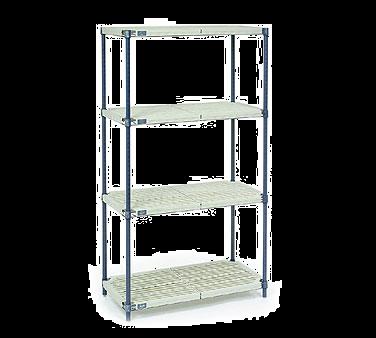 NEXEL PM21487N shelving unit, plastic with metal post