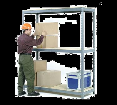 NEXEL WDS615T shelving unit, solid flat