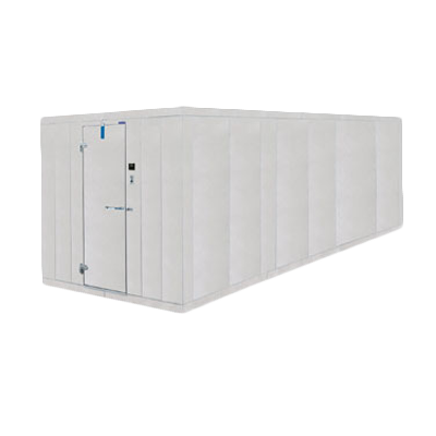 Nor-Lake 10X36X7-7ODCOMBO walk in combination cooler freezer, box only