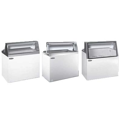 Nor-Lake HF100WWG/0L display case, dipping ice cream