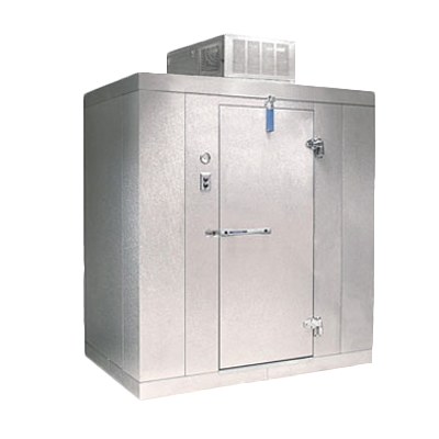 Nor-Lake KLB74810-C walk in cooler, modular, self-contained