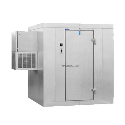 Nor-Lake KLF77810-W walk in freezer, modular, self-contained