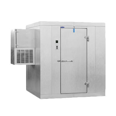 Nor-Lake KLF88-W walk in freezer, modular, self-contained