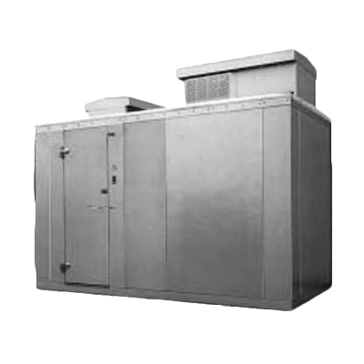 Nor-Lake KODF88-Cx walk in freezer, modular, self-contained