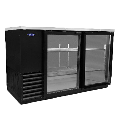 Nor-Lake NLBB59G back bar cabinet, refrigerated