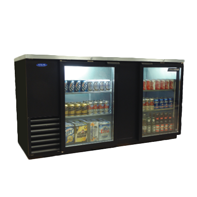 Nor-Lake NLBB69G back bar cabinet, refrigerated