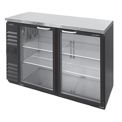 Nor-Lake NLBB72NG back bar cabinet, refrigerated