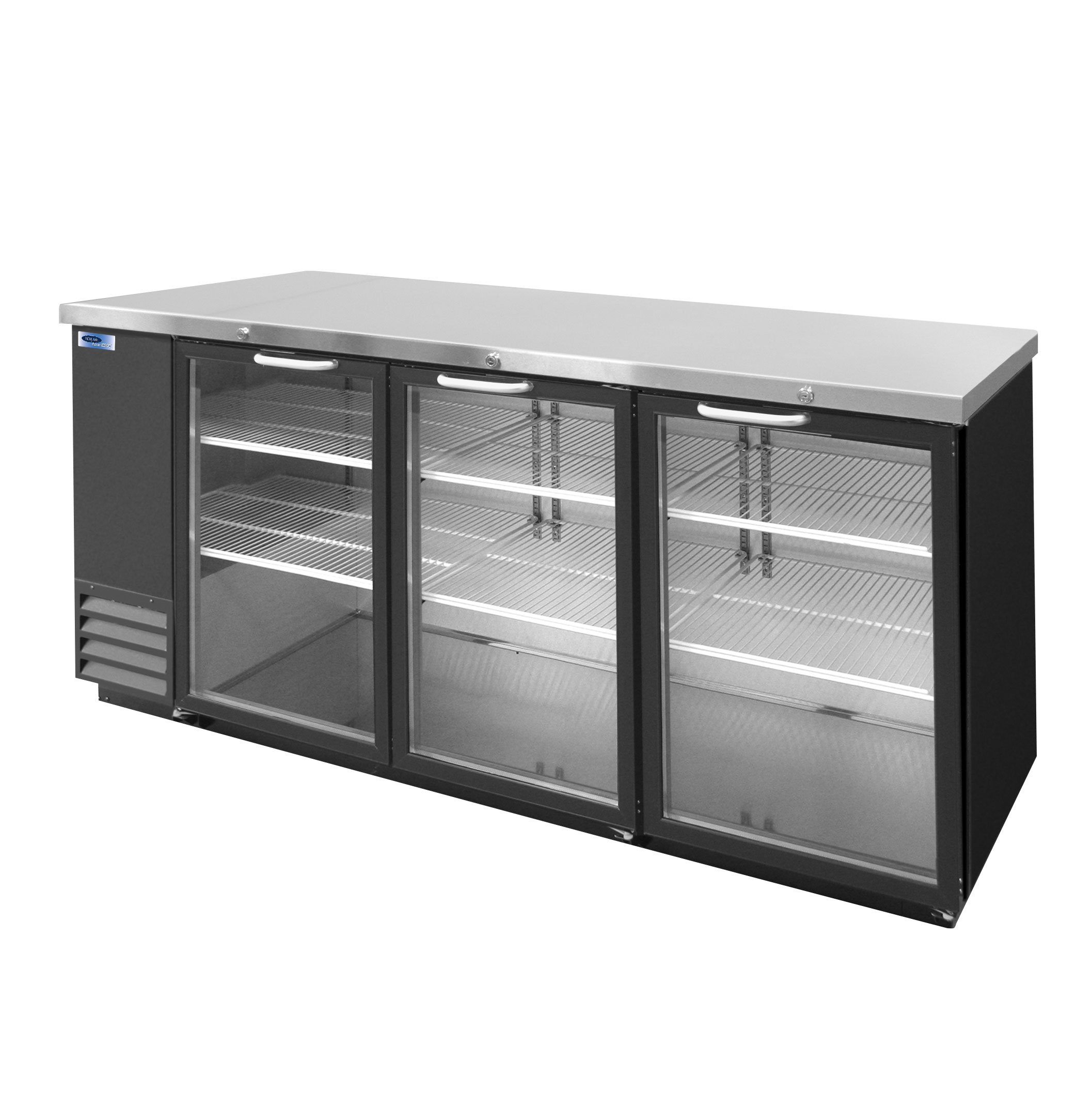 Nor-Lake NLBB79G back bar cabinet, refrigerated