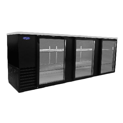 Nor-Lake NLBB95G back bar cabinet, refrigerated