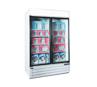 Nor-Lake NLGFP48-HG-W freezer, merchandiser