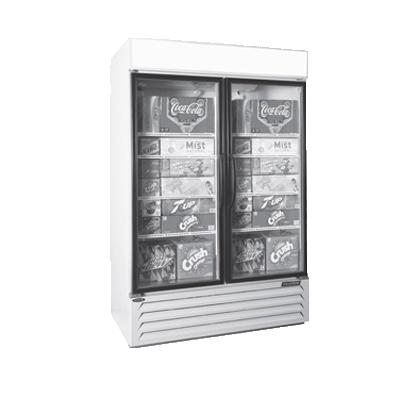Nor-Lake NLGRP48-HG-W refrigerator, merchandiser