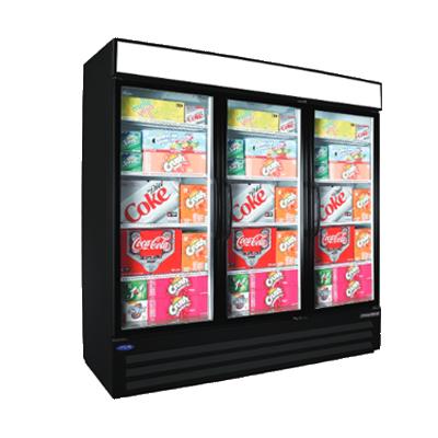Nor-Lake NLGRP74-HG-B refrigerator, merchandiser