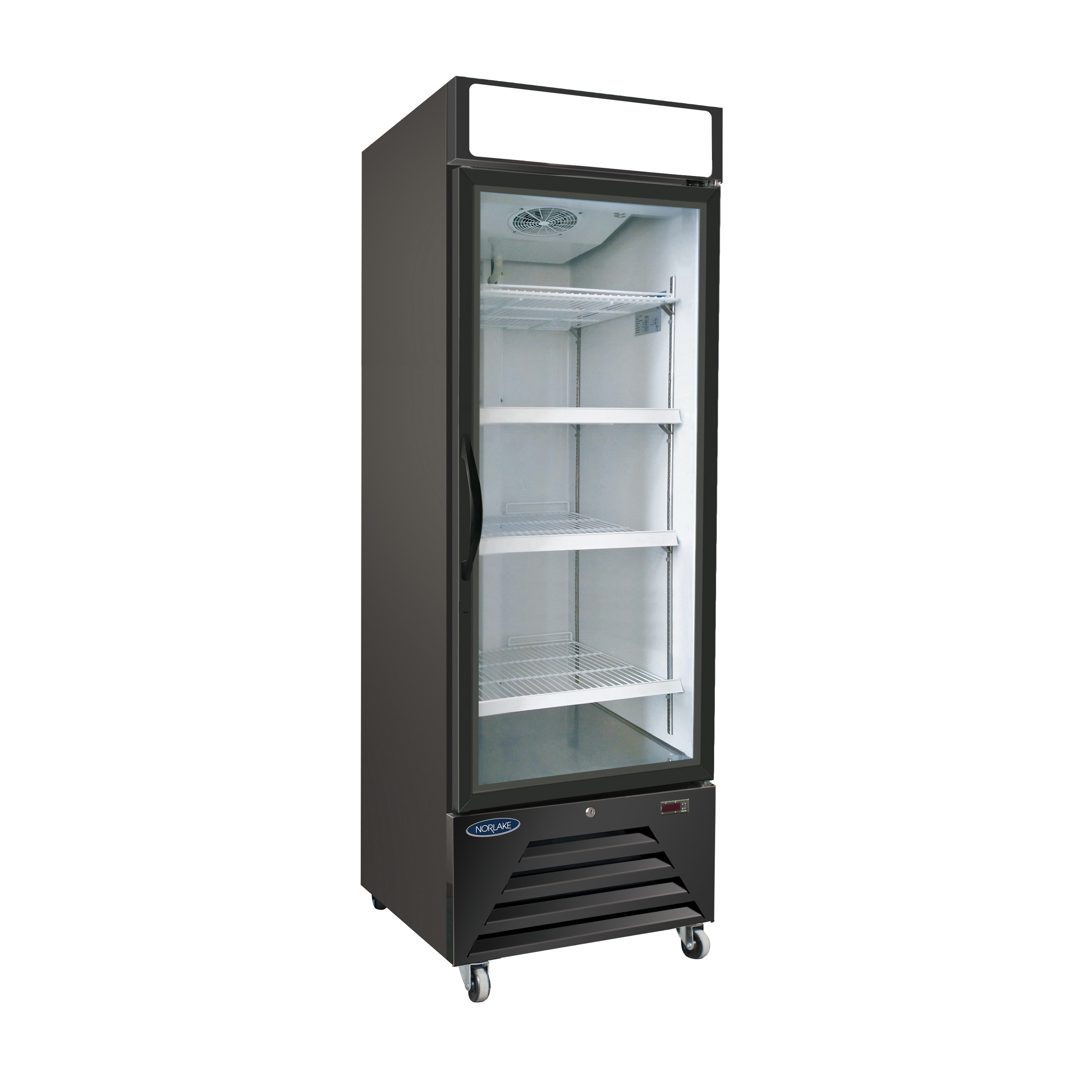 Nor-Lake NLRGM23HB refrigerator, merchandiser