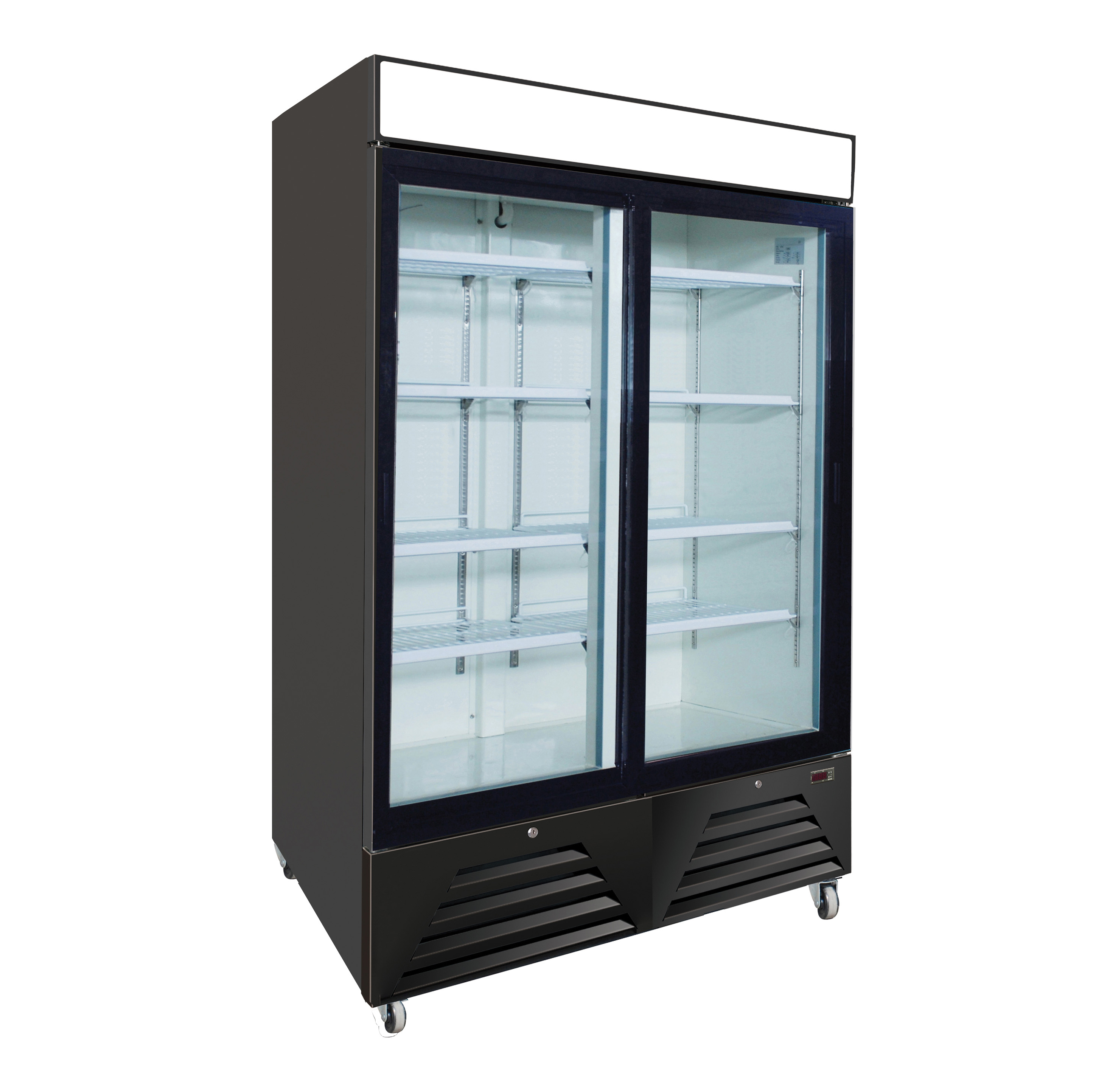Nor-Lake NLRGM48SB refrigerator, merchandiser