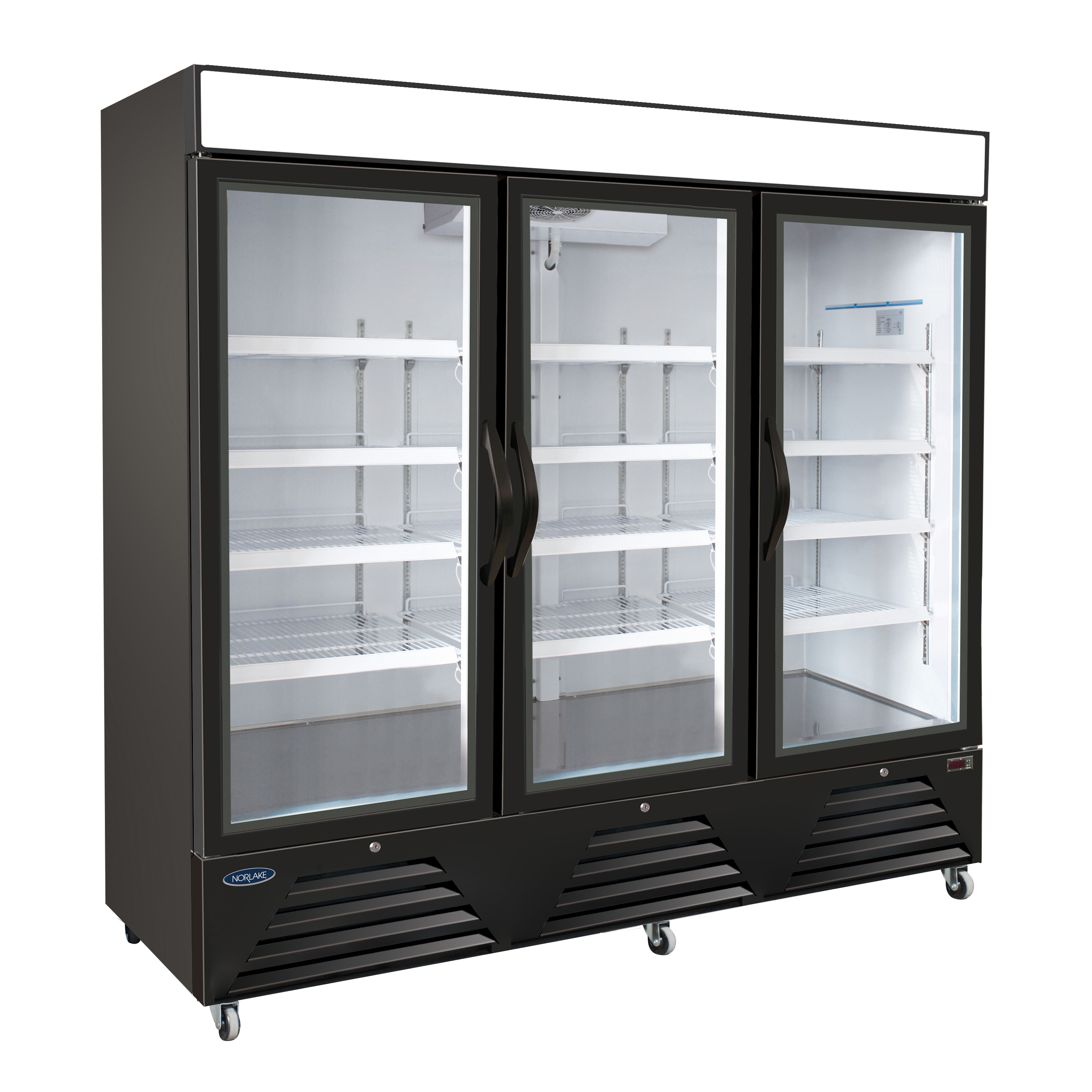 Nor-Lake NLRGM72HB refrigerator, merchandiser