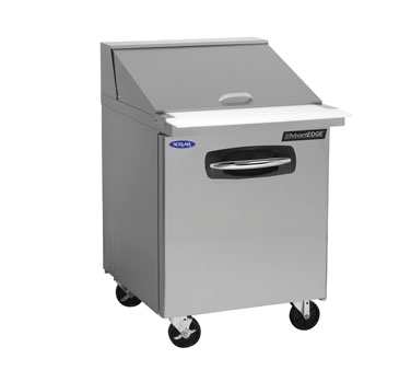 Nor-Lake NLSMP27-12A refrigerated counter, mega top sandwich / salad unit
