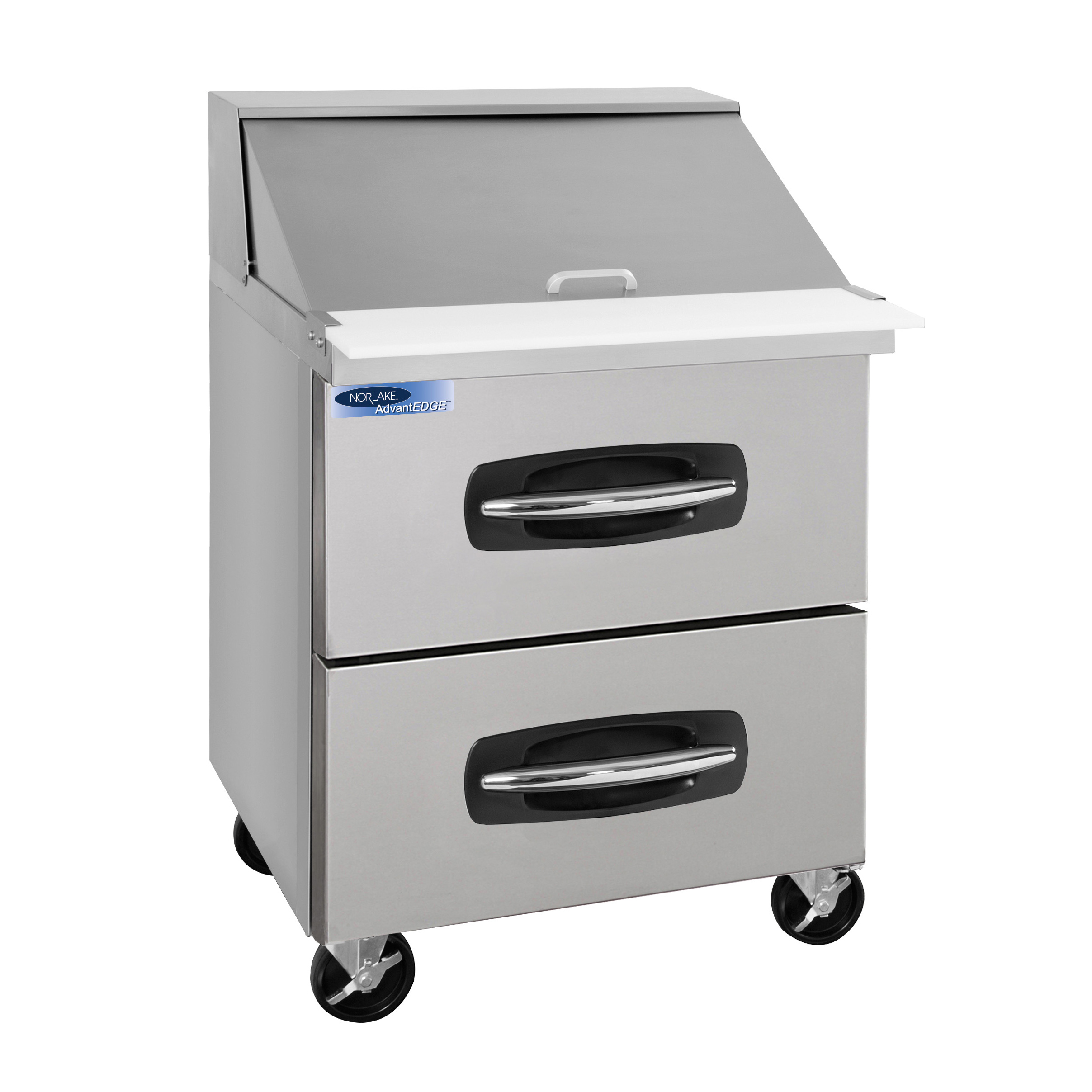 Nor-Lake NLSMP27-12A-001B refrigerated counter, mega top sandwich / salad unit