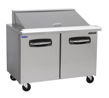 Nor-Lake NLSMP36-15A refrigerated counter, mega top sandwich / salad unit
