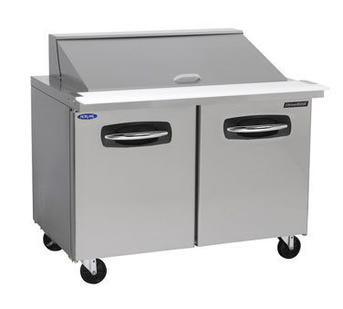 Nor-Lake NLSMP48-18A refrigerated counter, mega top sandwich / salad unit