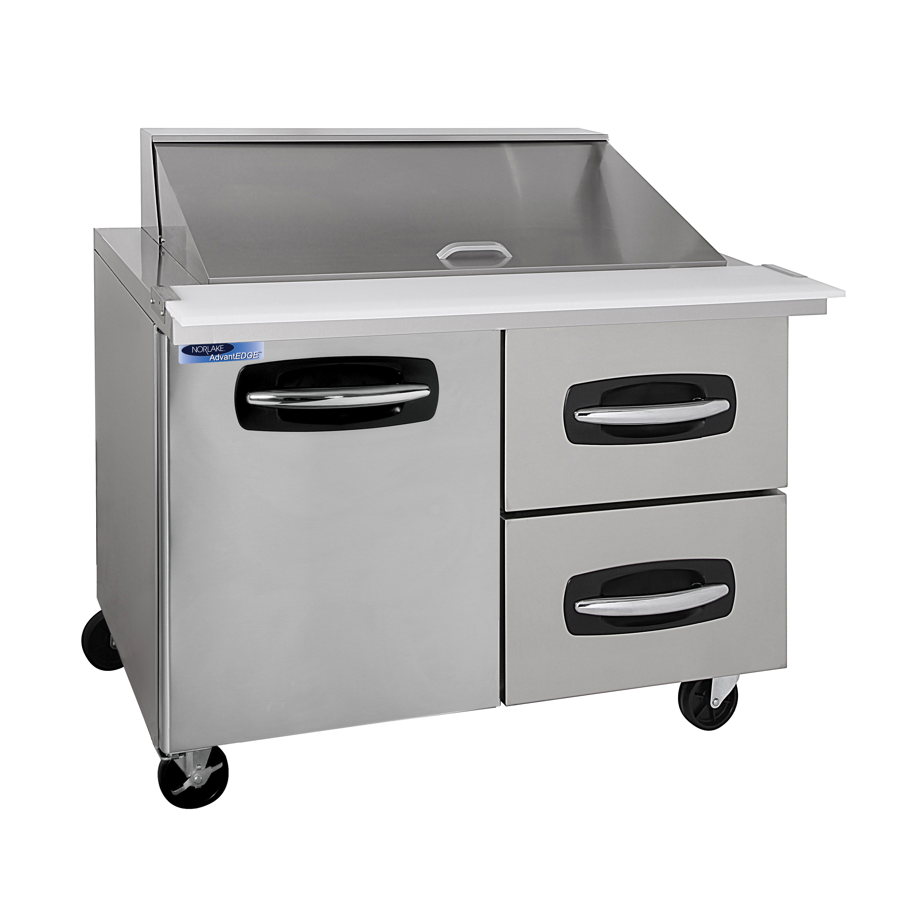 Nor-Lake NLSMP48-18A-002B refrigerated counter, mega top sandwich / salad unit