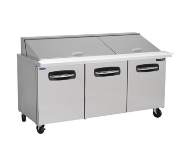 Nor-Lake NLSMP72-30A refrigerated counter, mega top sandwich / salad unit