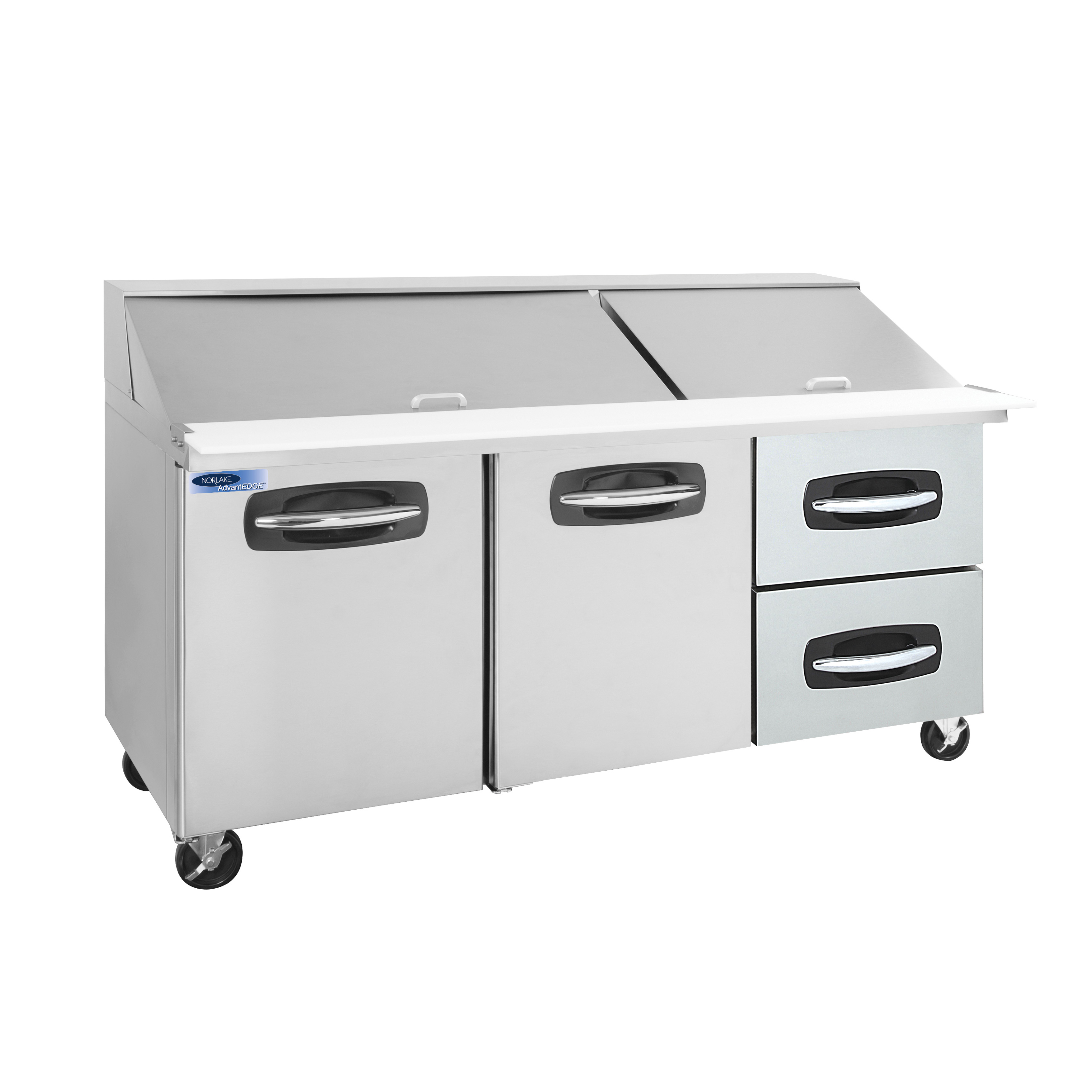 Nor-Lake NLSMP72-30A-002B refrigerated counter, mega top sandwich / salad unit
