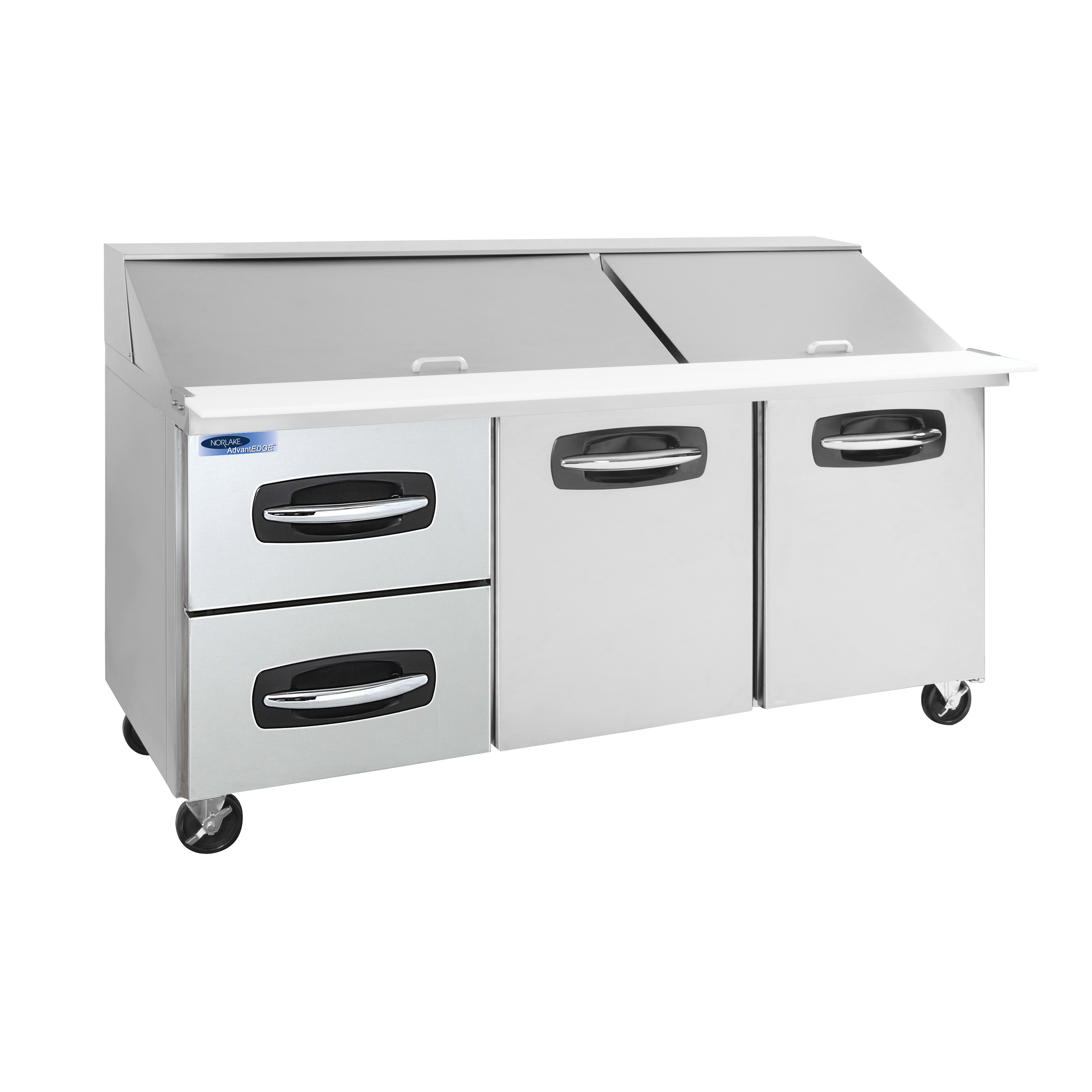 Nor-Lake NLSMP72-30A-003B refrigerated counter, mega top sandwich / salad unit