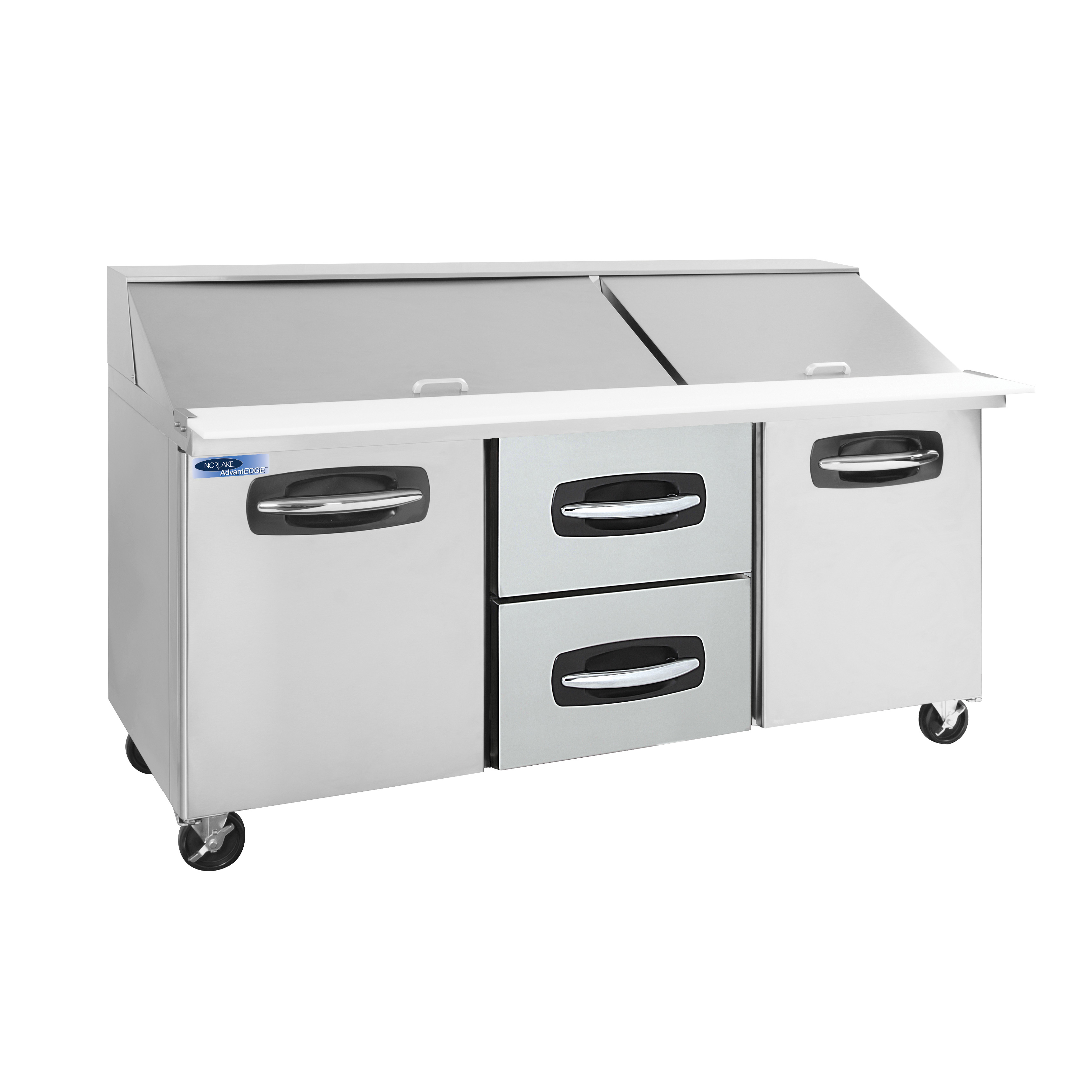 Nor-Lake NLSMP72-30A-004B refrigerated counter, mega top sandwich / salad unit