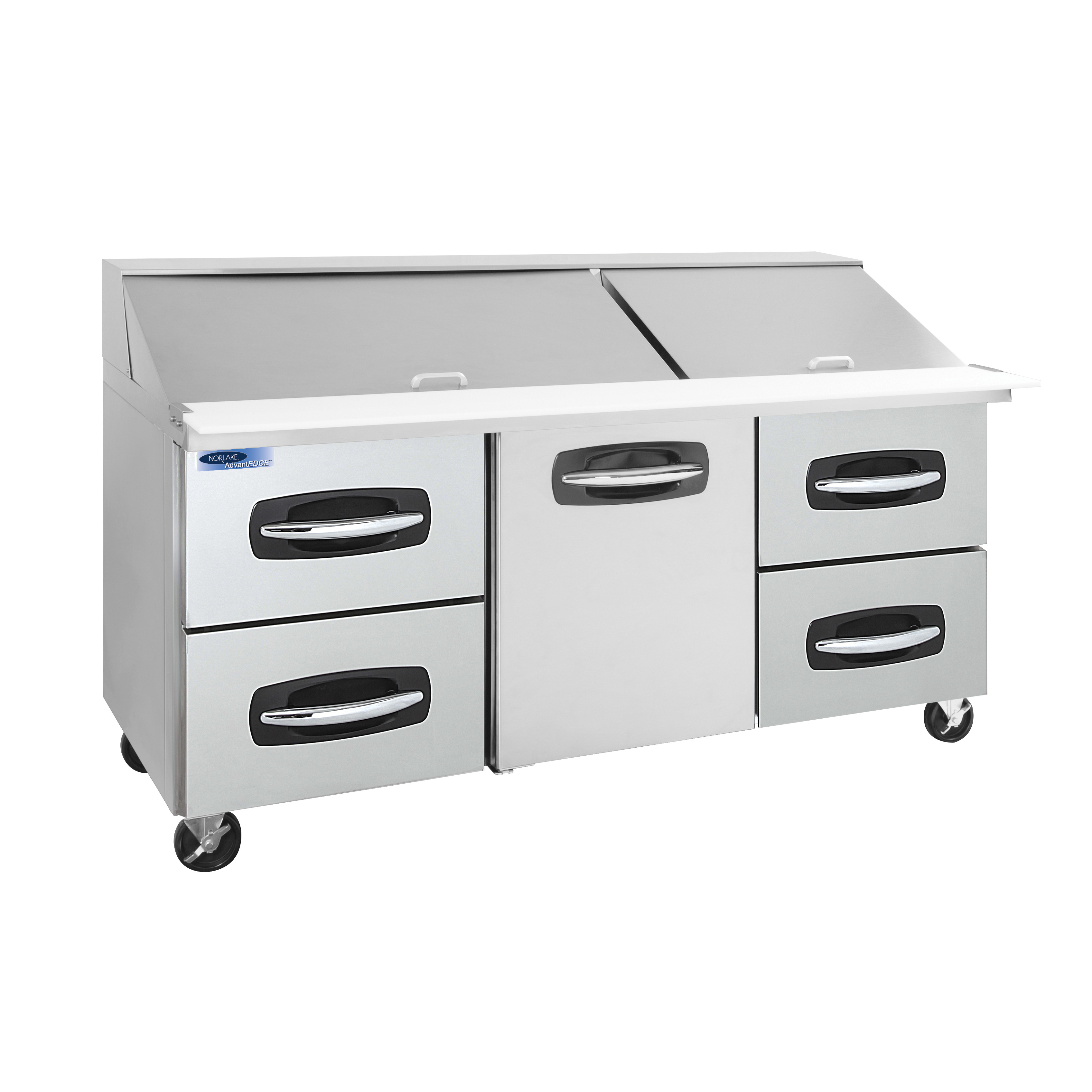 Nor-Lake NLSMP72-30A-005B refrigerated counter, mega top sandwich / salad unit