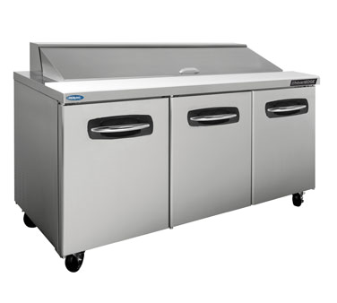 Nor-Lake NLSP72-18A refrigerated counter, sandwich / salad unit
