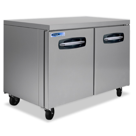 Nor-Lake NLUF48A-014 freezer, undercounter, reach-in