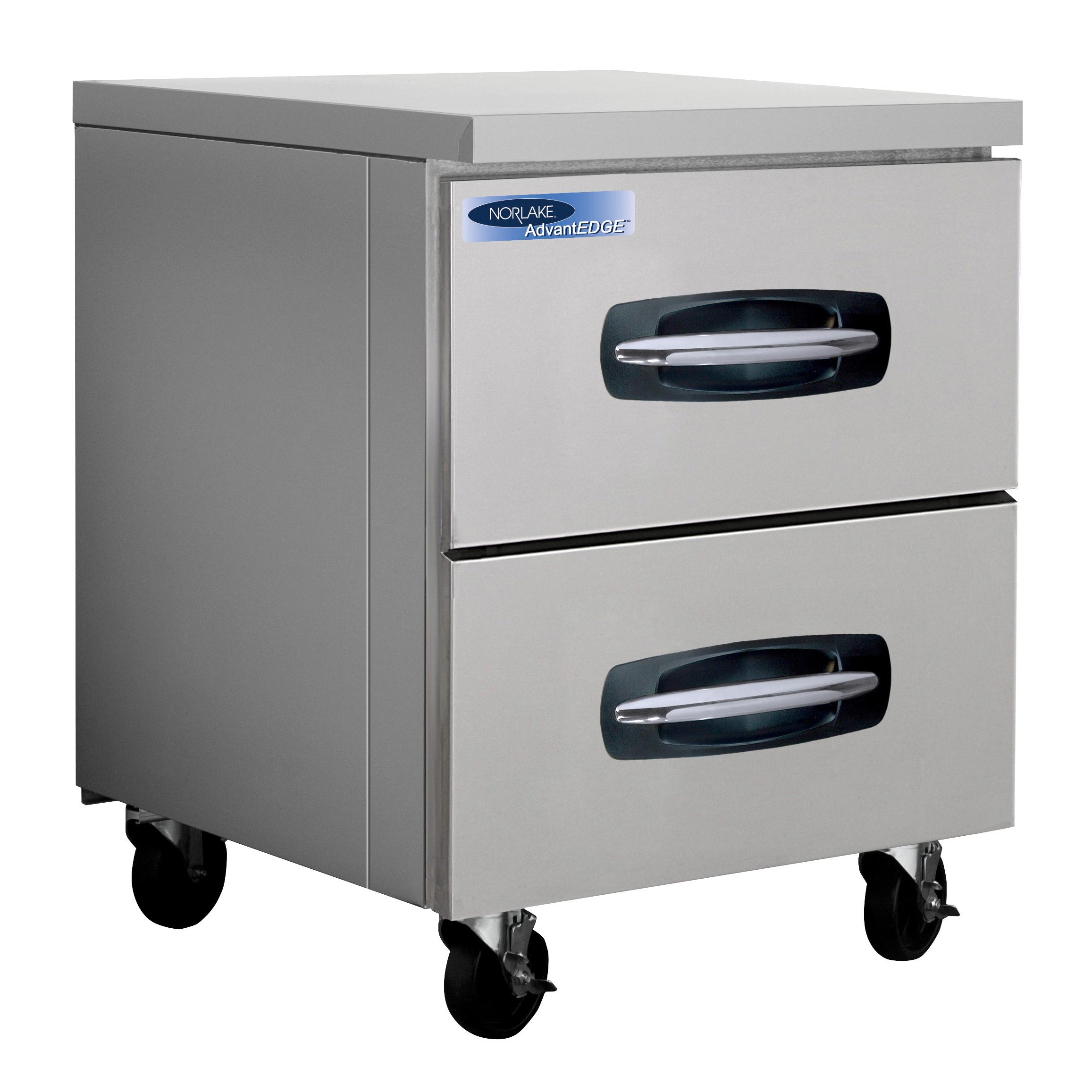 Nor-Lake NLUR27A-001B refrigerator, undercounter, reach-in