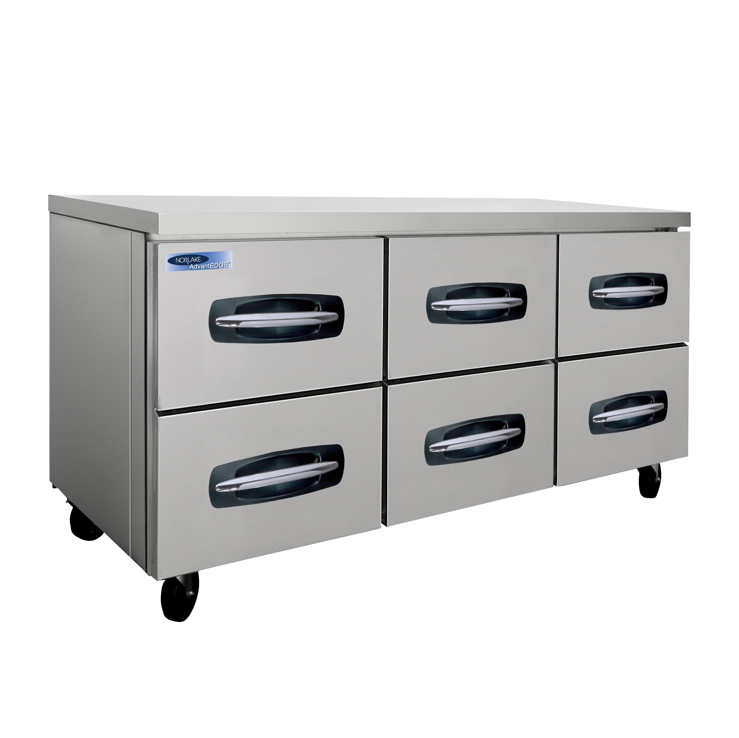 Nor-Lake NLUR72A-001B refrigerator, undercounter, reach-in