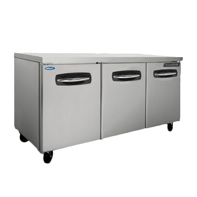Nor-Lake NLUR72A-015 refrigerator, undercounter, reach-in