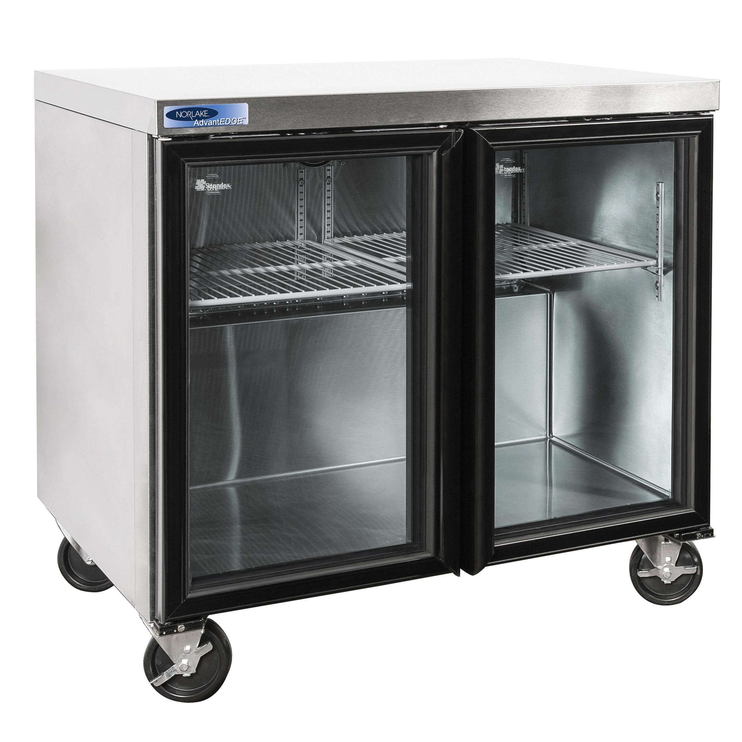 Nor-Lake NLURG36A-015 refrigerator, undercounter, reach-in