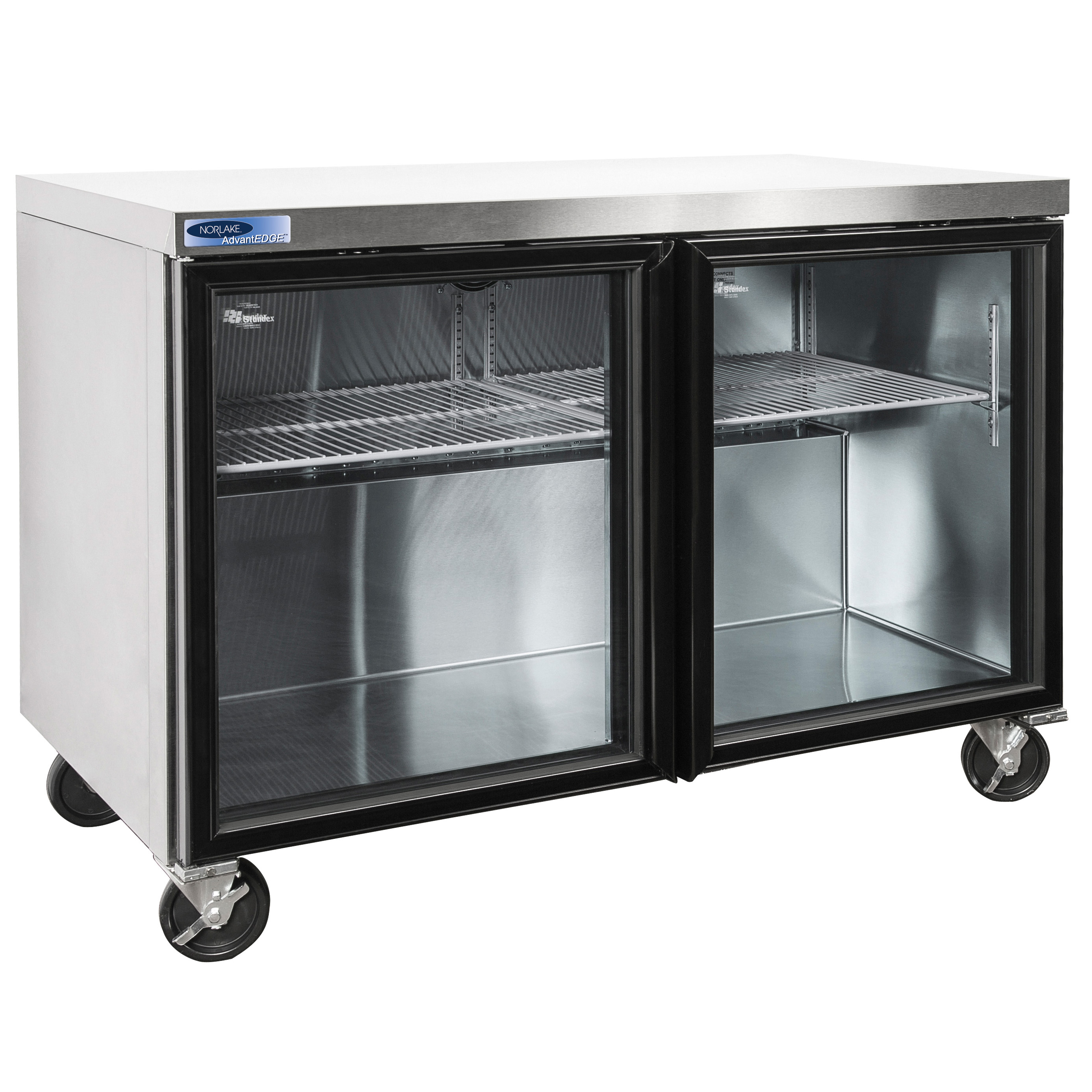 Nor-Lake NLURG48A refrigerator, undercounter, reach-in