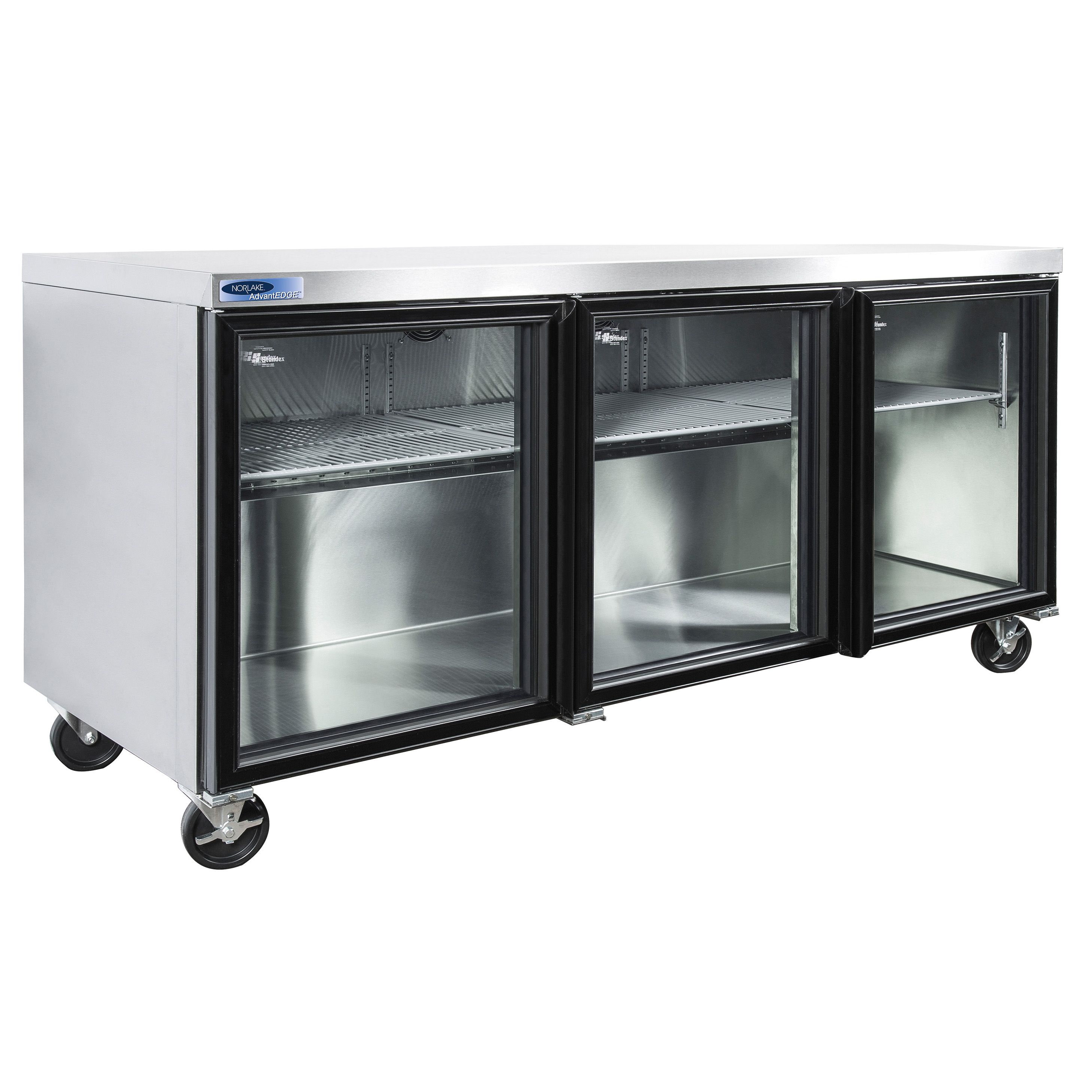 Nor-Lake NLURG72A refrigerator, undercounter, reach-in