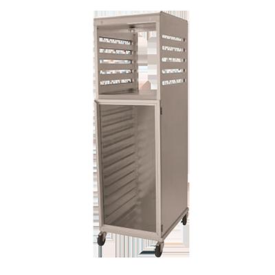 NU-VU CR18 cabinet, enclosed, bun / food pan