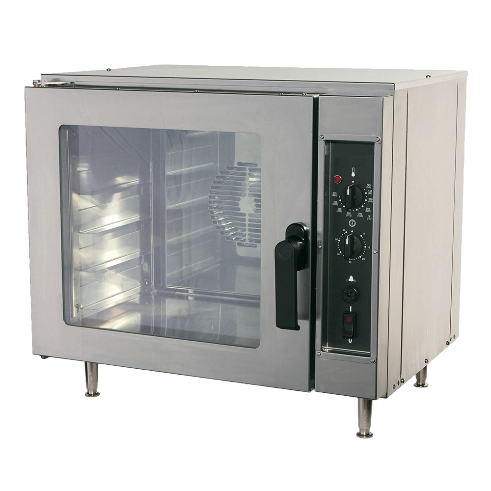 NU-VU NCO5 convection oven, electric