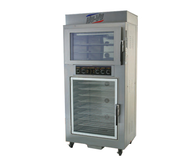 NU-VU QB-3/9 convection oven / proofer, electric