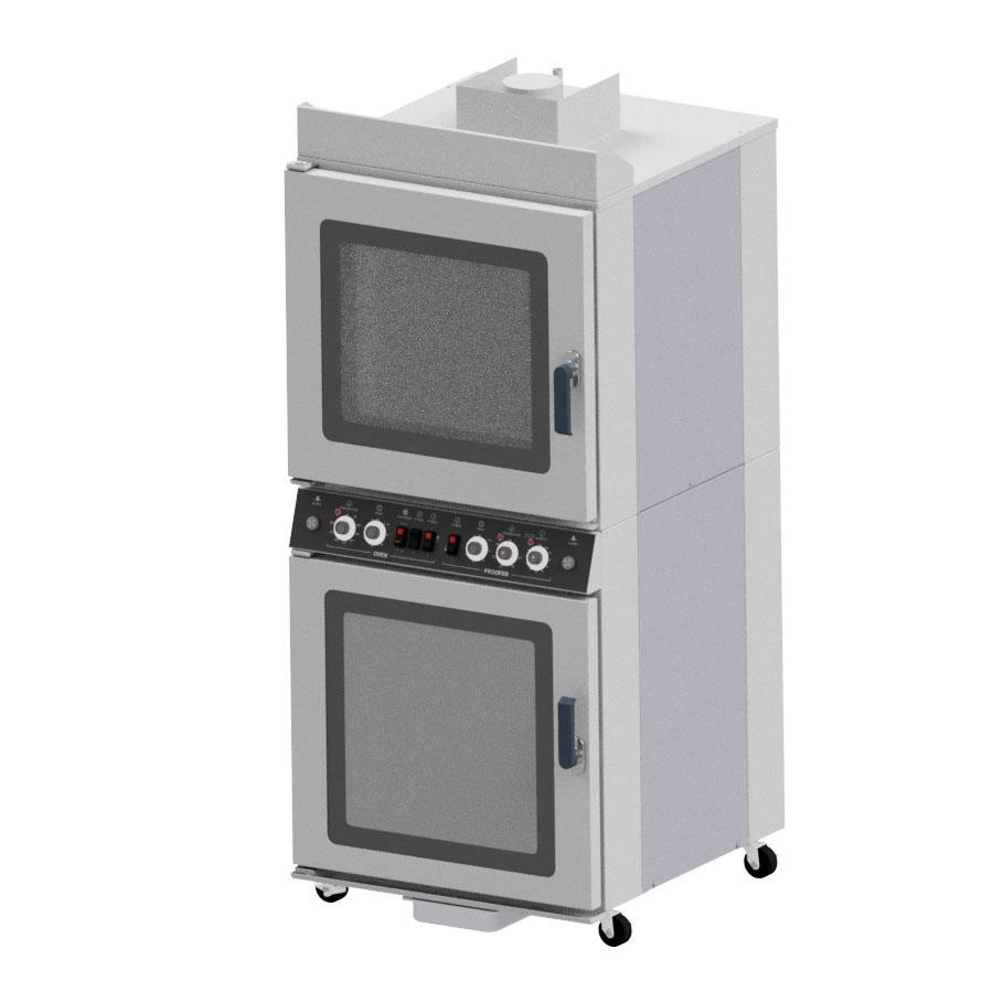 NU-VU QB-4/8 convection oven / proofer, electric