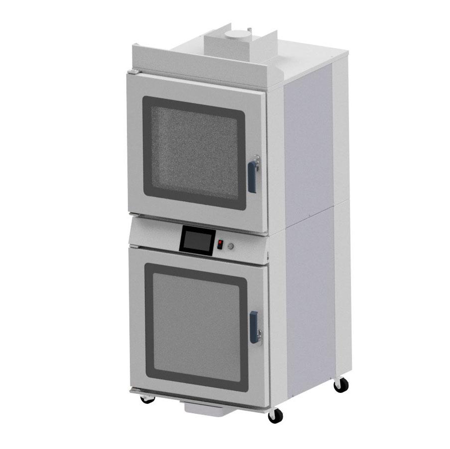 NU-VU QBT-4/8 convection oven / proofer, electric