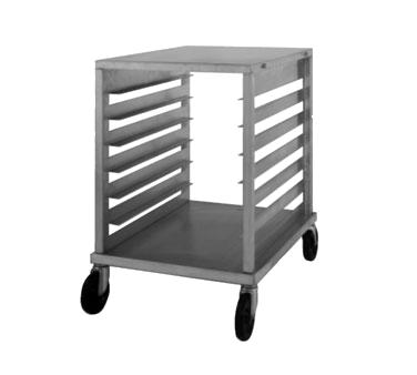 NU-VU SB-1 pan rack with work top, mobile