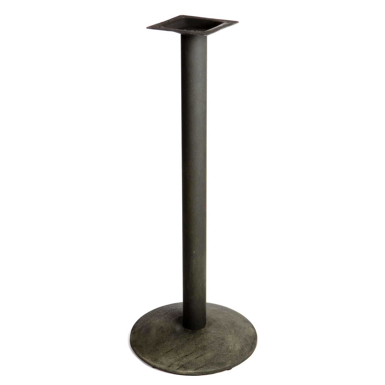 Oak Street B18DISC-BAR table base, metal