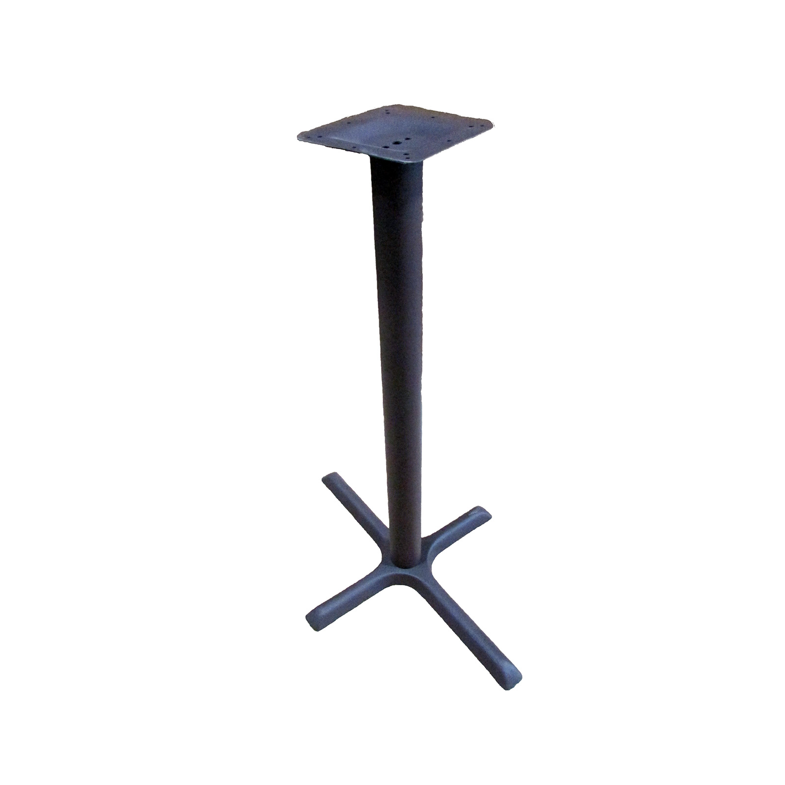 Oak Street B2230BRZ-BAR table base, metal